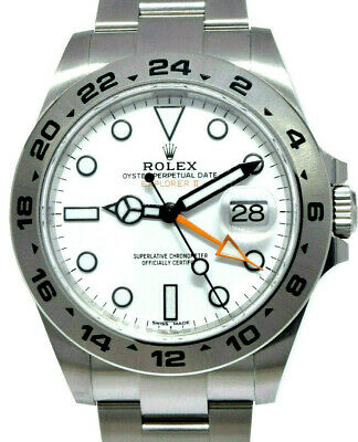 $ CDN14663.25 • Buy NEW Rolex Explorer II Stainless White Dial Men 42mm Watch Box/Papers '20 216570