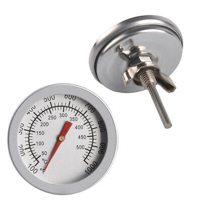 Stainless Steel Barbecue BBQ Smoker Grill Thermometer Temperature Gauge 50-500℃q • 4.39£
