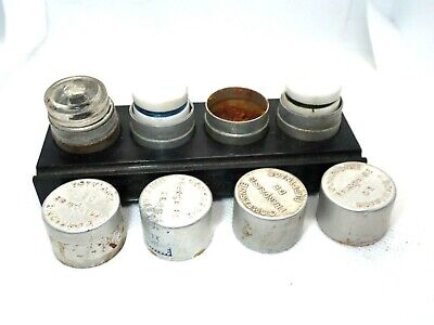 $ CDN97.76 • Buy Vintage HUILES CHRONAX Watchmakers WATCH OIL STAND With 3 Oil Cup VG Used France