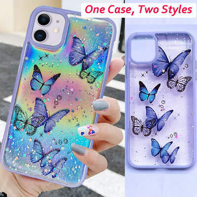 AU11.95 • Buy Creative Clear Butterfly Silicone Phone Case For IPhone 11 Pro Max SE2 7 8 Plus