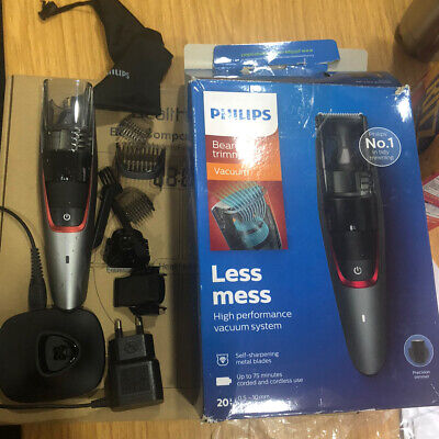 AU82.27 • Buy Philips Series 7000 Beard And Stubble Less Mess Vacuum Trimmer