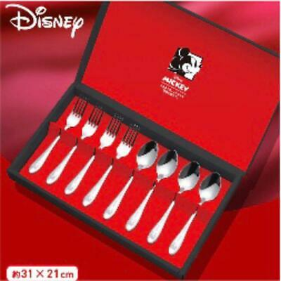 Mickey Mouse Cutlery Set Spoon & Fork • 41.38£