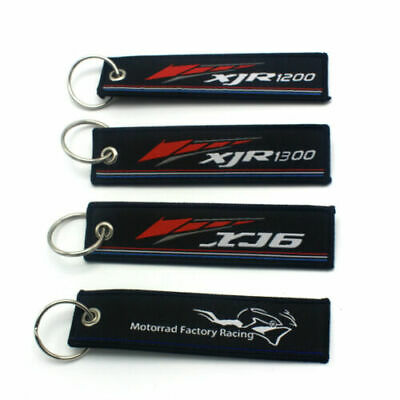 AU6.99 • Buy Embroidery Key Holder Chain Collect For YAMAHA XJ6 DIVERSION XJR1200 XJR1300