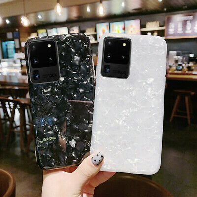 AU11.89 • Buy Marble Case For Samsung Galaxy S9 S8 S10 Plus Shockproof Silicone Phone Cover