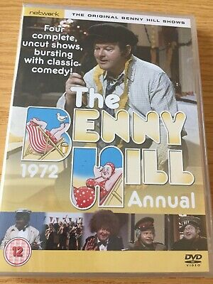The BENNY HILL ANNUAL ~ 1972   * New Sealed  DVD * 4 COMPLETE SHOWS • 11.99£