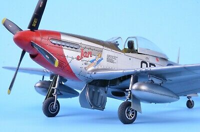 """1/48 Meng P-51D Mustang """"Red Nose"""" BUILT AND PAINTED • 130£"""