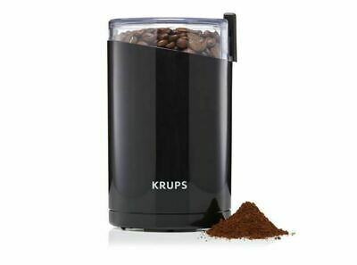 Krups (F2034251) Electric Spice And Coffee Grinder Stainless Steel - Black  S55 • 26.59£