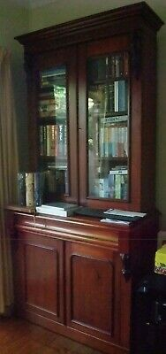 AU1900 • Buy Original Victorian Antique  Cedar Bookcase C.1870  (No 1)