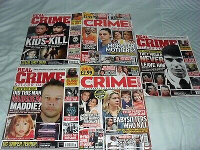 True Crime Magazines Bundle OF 5 All 2020    • 7.85£