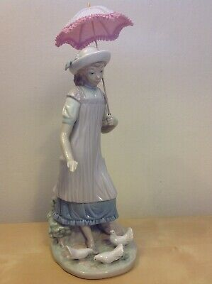 LLADRO Ladro Figurine ~ Susan And The Doves ~ Excellent RARE • 100£