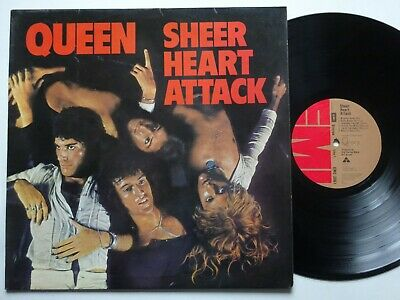 QUEEN Sheer Heart Attack - VG+/VG+ Cond First 3U/4U 1974 EMI LP & Inner Sleeve • 17.99£