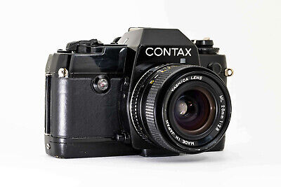 Contax 137 MD Quartz Body + Yashica ML 28mm F2.8 Lens In Great Condition • 190£
