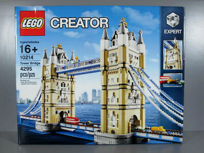 NEW LEGO CREATOR EXPERT TOWER BRIDGE 10214. SEALED DISCONTINUED [House Clearing[ • 294.99£