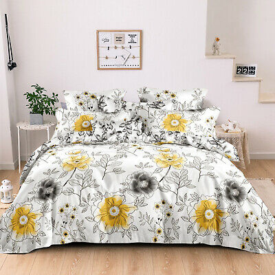 AU48 • Buy All Size Bed Ultra Soft Quilt Duvet Doona Cover Set Bedding Pillowcase Waltz For