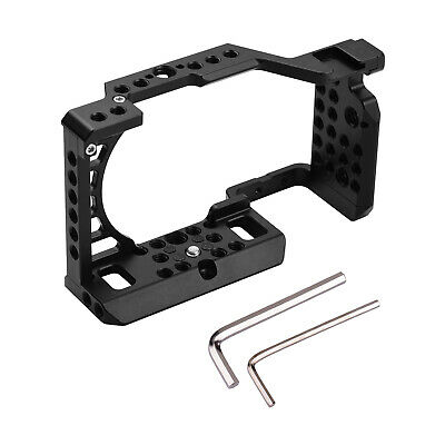 $ CDN47.22 • Buy Aluminum Alloy Camera Cage Rig For So Ny A6000/A6100/A6300/A6400/A6500 Cam E8I2