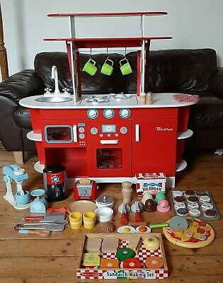 ELC Wooden Kitchen And Accessories  • 50£