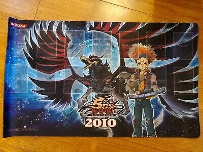 AU19 • Buy Yugioh Playmat - 2010 Crow Hogan And Black-Winged Dragon