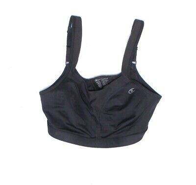 Champion Women Sports Bra Black 34DD Comfort Gel Infused Full Coverage $48 821 • 24.99£