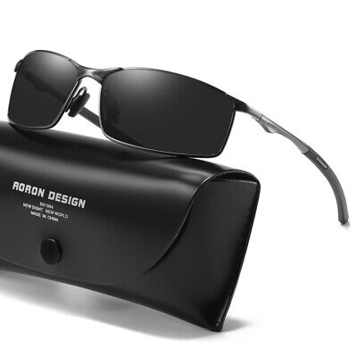 AU14.99 • Buy Aluminium HD Polarized Photochromic Sunglasses Men Driving Chameleon Sun Glasses