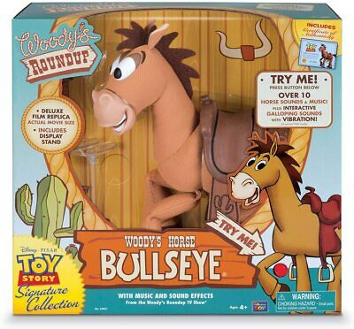 £39.99 • Buy Disney Toy Story Signature Collection Interactive Talking Bullseye