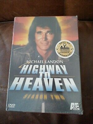 Highway To Heaven - Series 2 - Complete (DVD, 6-Disc Box Set) .***NEW SEALED*** • 24.99£