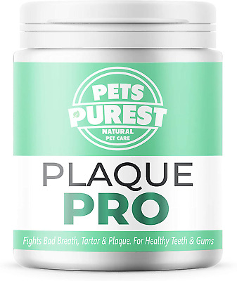 Natural Plaque Off For Dogs Cats Dental Care Tartar Remover Freshens Breath 180g • 12.61£