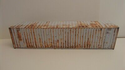 1.50 Scale Shipping Containers 'RUSTY' GREY Special Price • 2£