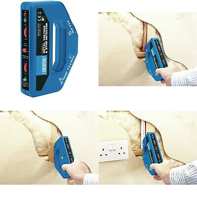 £19.95 • Buy New Draper 13818 COMBINED METAL VOLTAGE STUD DETECTOR Live Dead Cable Wire Nail
