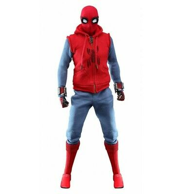 $ CDN482.28 • Buy Hot Toys Spiderman Homecoming Figurine 1/6 Spider-Man Homemade Suit - 29cm