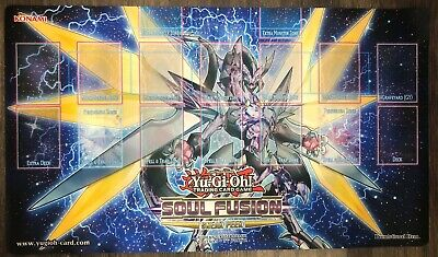 AU29.95 • Buy Authentic Sneak Peak Soul Fusion YuGiOh Playmat Trading Card Game Mat - Konami