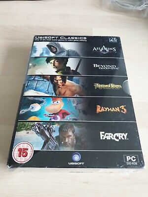 AU26.69 • Buy 25 YEARS OF UBISOFT - 5 PC GAMES Inc ASSASSIN'S CREED, FAR CRY, RAYMAN 3 Etc