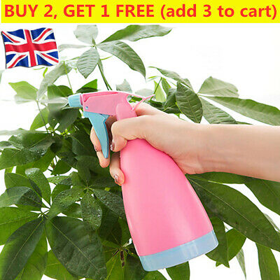 500ml Cleaning Garden & Plant Spray Bottle Plastic Watering Sprayer Hair Tools • 2.99£