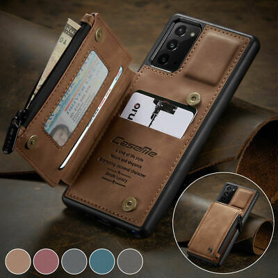 AU18.72 • Buy For Samsung Galaxy S20 Ultra Note10 S10 Plus S10e Wallet Leather Flip Case Cover