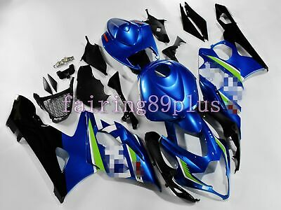 $559 • Buy Blue Black ABS Plastic Injection Fairing Kit Fit For 2005 06 GSXR1000 Full Tank