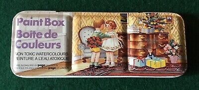 1950's Page Of London Watercolour Paint Box Small • 10.32£