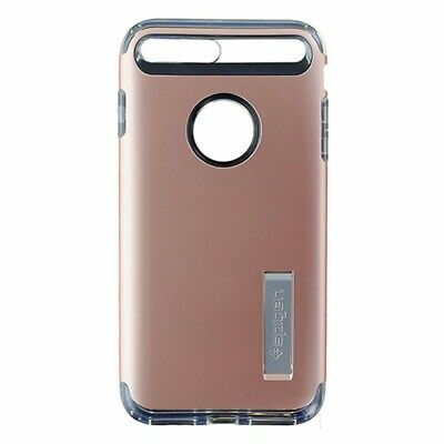 AU9 • Buy Spigen Slim Armor Dual Layer Case With Kickstand For IPhone 7 Plus - Rose Gold