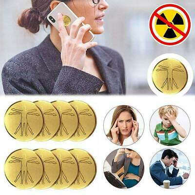 Anti-radiation Stickers Laptop Cell Phone Protection Energy Saver Health • 6.49£