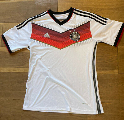 Germany World Cup Football Shirt Small S Retro Vintage Adidas • 18£