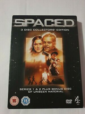 Spaced: The Complete First And Second Series (Box Set) DVD (2006) Simon Pegg • 1£