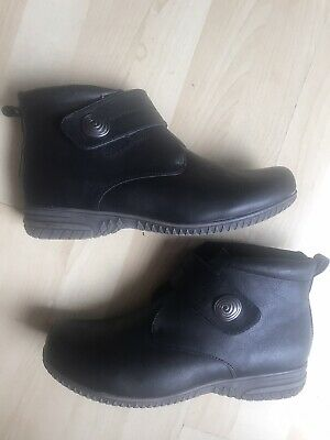 Pavers Leather Ankle Boots Womens Size 9 • 9.99£