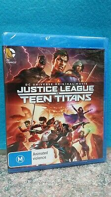 AU25 • Buy Justice League Vs Teen Titans Animated Film Blu-ray
