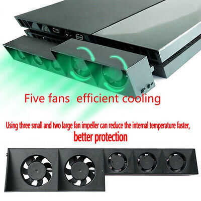 AU20.95 • Buy AU_ Fan For PS4/Pro Game Accessories Play/Station 4 Host Cooling Fan Cooler Exte