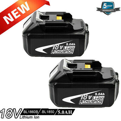 Replacement For Makita 18V 5.0AH Battery Lithium Ion Cordless BL1860B LXT400 UK • 19.90£