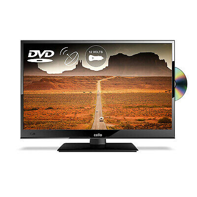 Cello 16  Inch Full HD LED 12v TV With Freeview And Satellite Tuner + DVD Player • 169.99£
