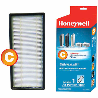 Honeywell HRF-C1 HEPA Clean Type C Replacement Air Purifier Filter Cartridge • 11.53£