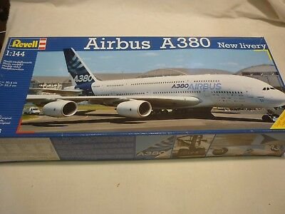 A Revell Un-made Plastic Kit Of A AIRBUS A 380,  Boxed,  • 29.99£