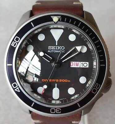 $ CDN716.04 • Buy SEIKO SKX007 Mod  The Vintage Style  NH36A Leather Strap New
