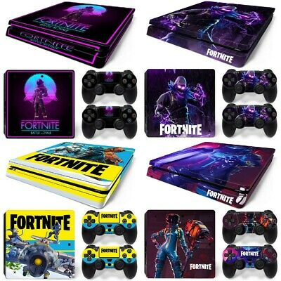 AU20.03 • Buy New Fortnite Vinyl Decal PS4 Slim Playstation 4 Skin Console Controller Stickers