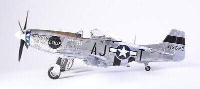 """1/48 Airfix P-51D Mustang """"Short Fuse Sallee"""" BUILT AND PAINTED • 130£"""