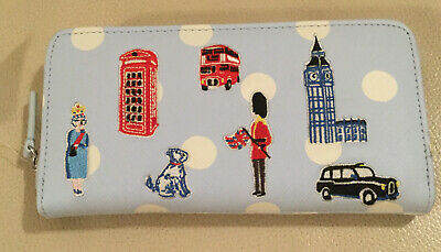 Cath Kidston Continental Mini London Icons Purse Wallet New With Tags  • 14.99£